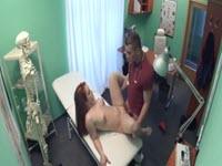 Sexo casual en su cita medica